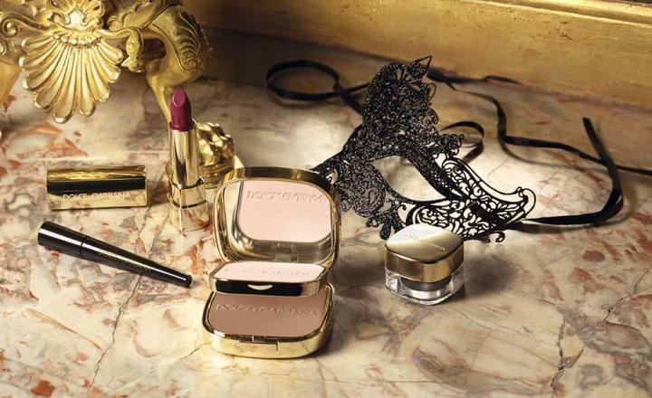 Рождественская коллекция макияжа Dolce & Gabbana Baroque Night Out