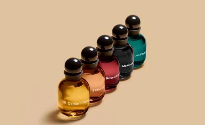 H&M выпустили парфюмерную коллекцию из 25 ароматов
