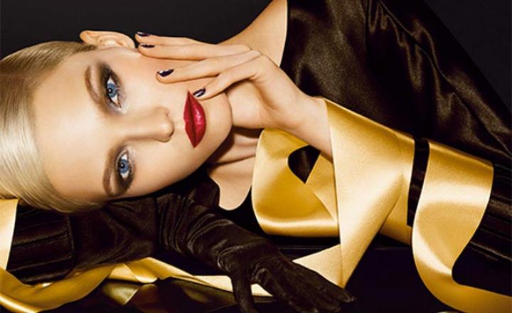Рождественский Dior: золотая коллекция макияжа