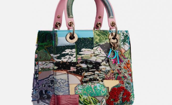Новые сумки в рамках проекта Dior Lady Art посвящены текстильному искусству