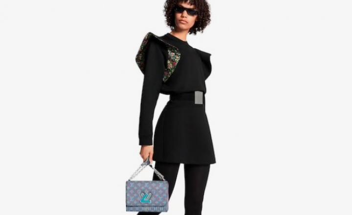 Новые сумки Louis Vuitton с монограммами со стереоэффектом