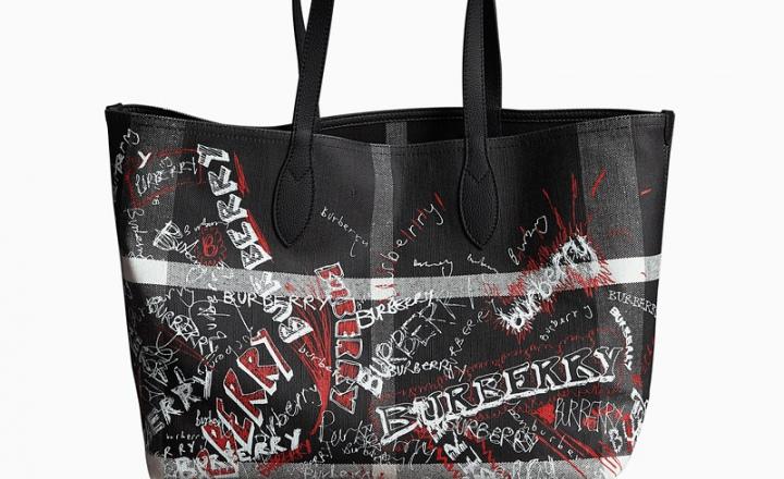 Записи на бегу: новые сумки-шоперы Burberry