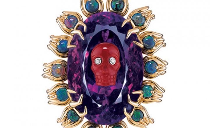 Царство мертвых: новая коллекция украшений Dior