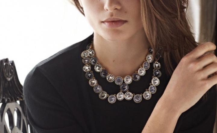 Ювелирные воротнички: украшения Louis Vuitton осень-зима 2013