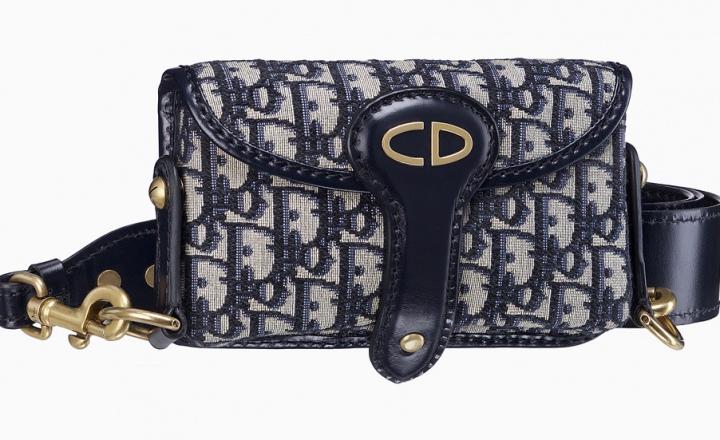 Возвращение культового сукна: новая поясная сумка Dior
