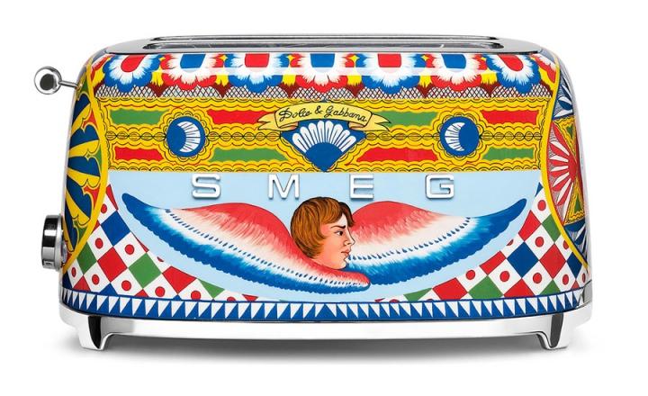 Коллекция кухонной техники Dolce & Gabbana + Smeg