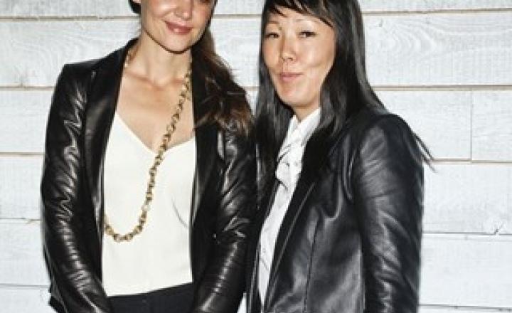 Дизайнерский дебют Кэти Холмс на Неделе моды в Нью-Йорке