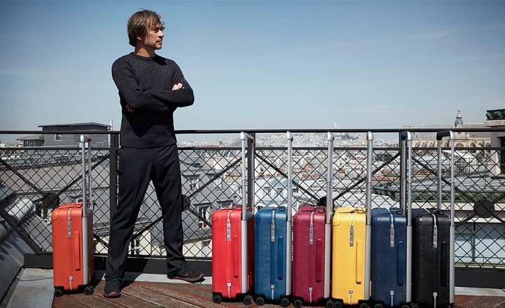 Новые чемоданы Louis Vuitton от мастера промышленного дизайна