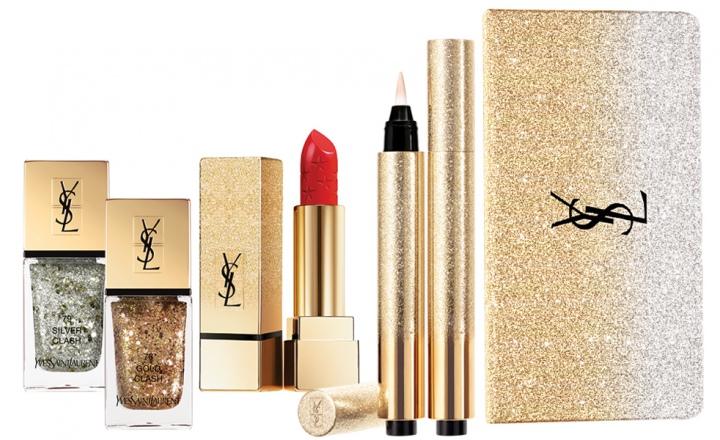 Рождественская коллекция макияжа YSL Holiday Look 2016
