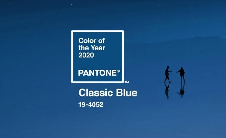 Pantone назвали цвет 2020 года — им стал «классический синий»