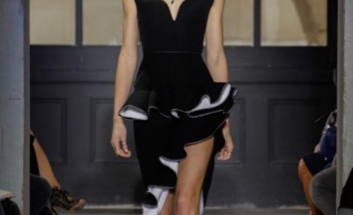 Дружные контрасты: Balenciaga, весна/лето 2013