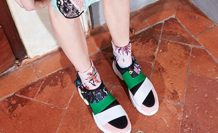 Авангардные кроссовки Emilio Pucci с культовыми принтами