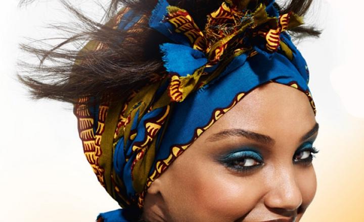 Африканский в макияже