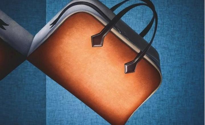 Hermès начал выпуск сумок из экокожи на основе грибов