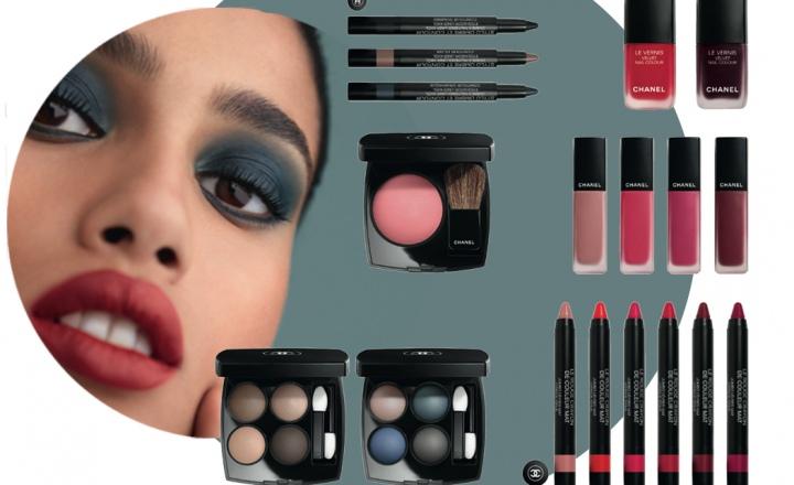 Осенний апофеоз в коллекции макияжа Chanel