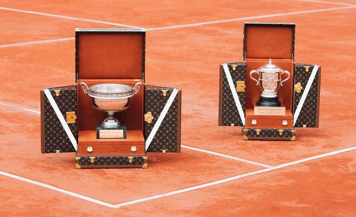 Louis Vuitton  представил сундуки для кубков «Ролан Гаррос»