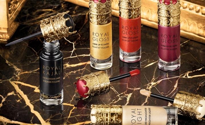 Рождественская «королевская» коллекция макияжа Dolce & Gabbana
