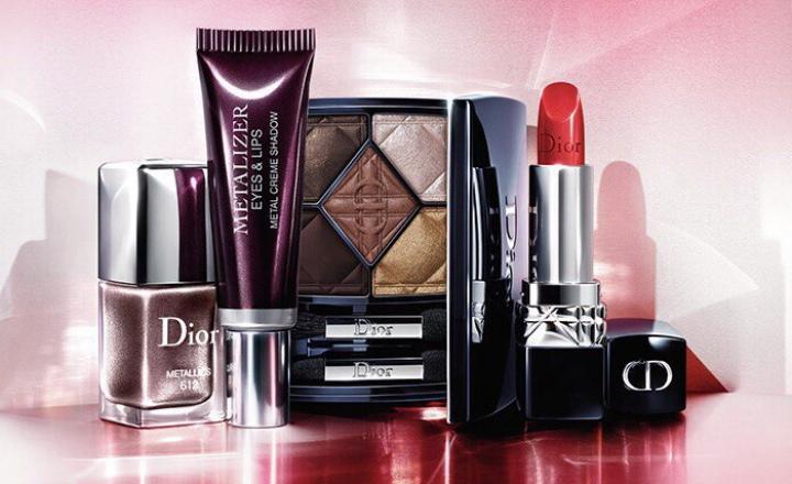 Осенняя коллекция макияжа Dior Metallics