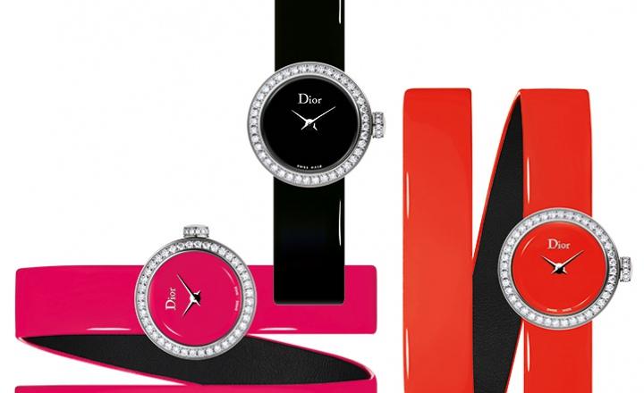 Блестящий лак и предельная лаконичность в новых часах La Mini D de Dior