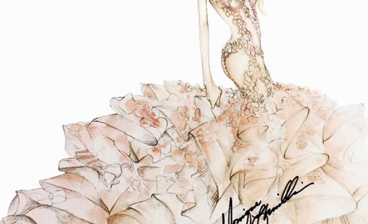 32d8b8beea3 35 эскизов свадебного платья Леди Гаги от модных дизайнеров ...
