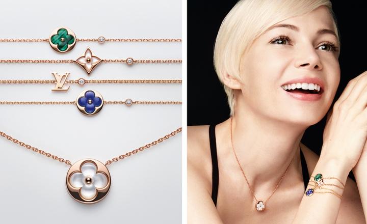 Логотипы и самоцветы: обновление повседневной коллекции украшений Blossom BB Louis Vuitton