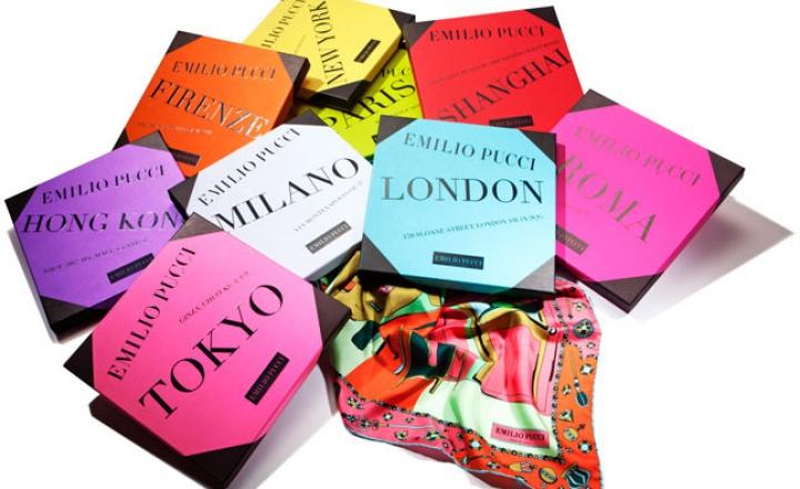 Шелковый путь: продолжение коллекции платков Emilio Pucci Cities of the World