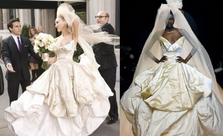 Вивьен Вествуд представила коллекцию к юбилею свадебного платья Кэрри Брэдшоу