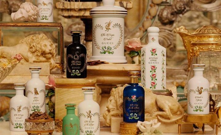 Новая парфюмерная линия Gucci «Сад алхимика»