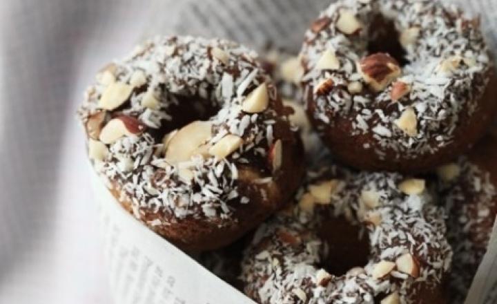 """Скажи диете """"Нет!"""": миндальные пончики"""