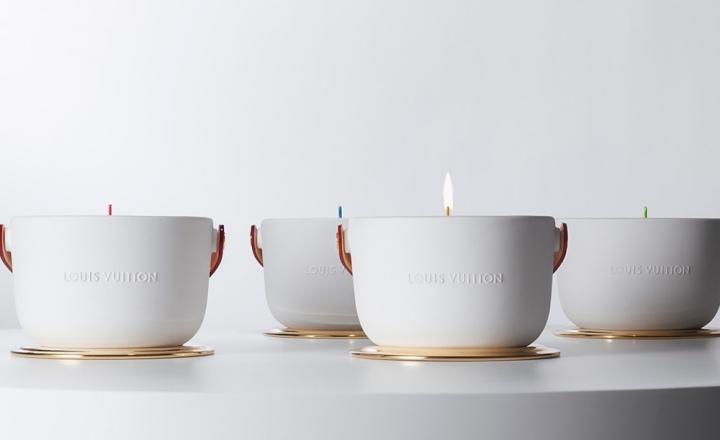 Новая коллекция ароматических свечей Louis Vuitton