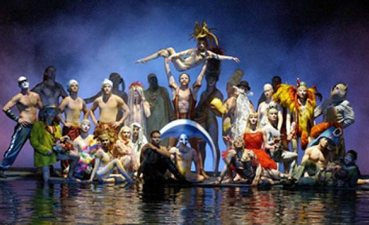 Журнал ELLE – информационный партнер выставки костюмов Cirque du Soleil