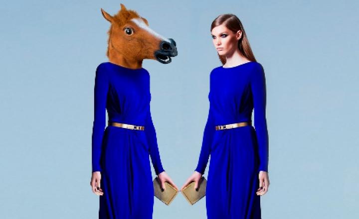 Вмастить году Лошади платьем