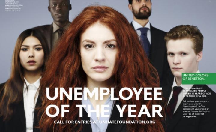 Не-кто: стартовал проект Benetton в поддержку безработных молодых людей