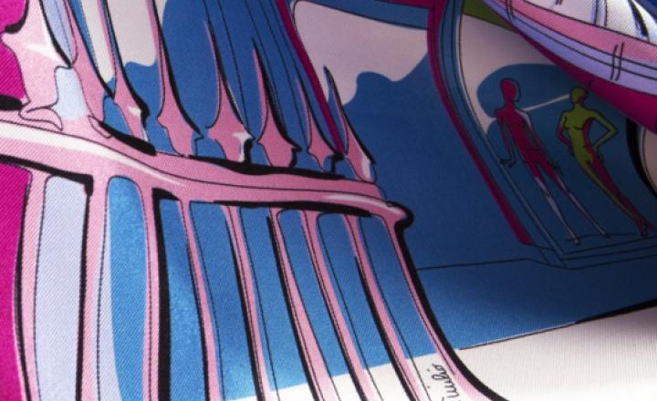Города мира: платки Emilio Pucci