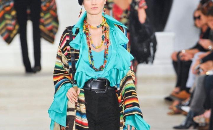 Этнический фейерверк Ralf Lauren закрыл Неделю моды в Нью-Йорке