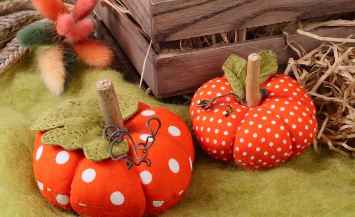 Готовимся к Хэллоуину: текстильная тыква за считанные минуты