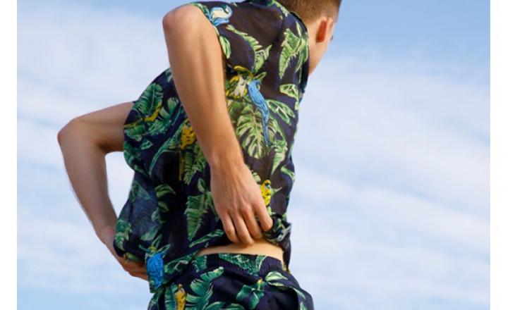 Первая мужская пляжная коллекция Стеллы Маккартни