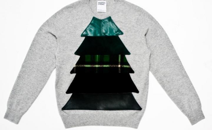 Свитер с елкой: новогодняя коллекция Andrea Crews для Uniqlo