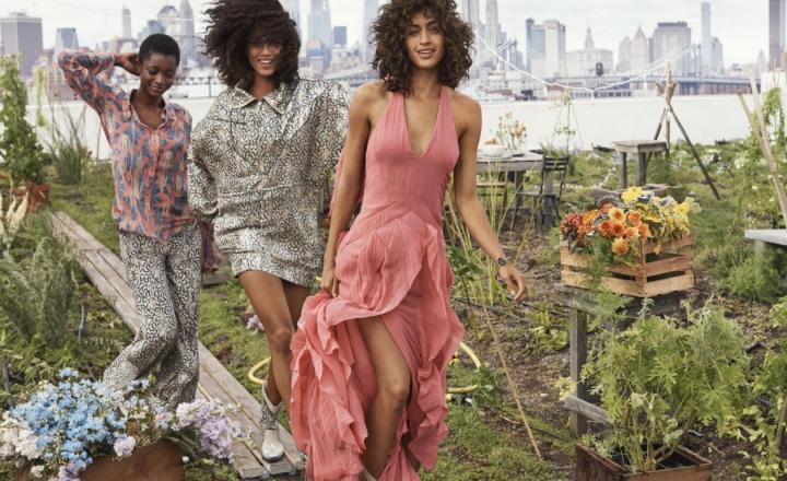 Нежные платья из ананасов в новой экологичной коллекции H&M Conscious Exclusive: фото