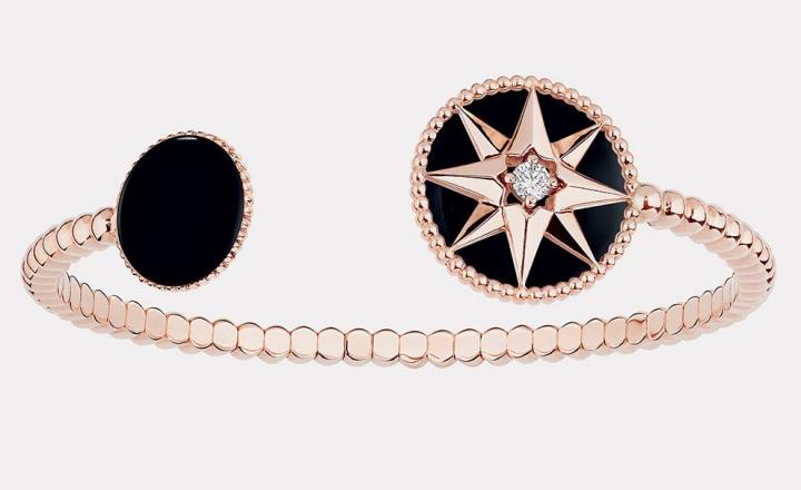 Новые браслеты-обручи в коллекции Dior Rose des Vents