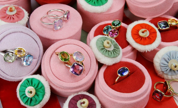 Лиза Элдридж представила коллекцию колец