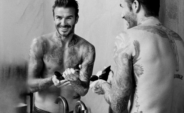 Дэвид Бекхэм запускает бренд мужской косметики