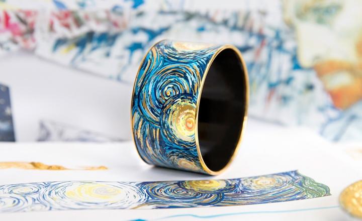 «Звездная ночь» Ван Гога на украшениях Freywille