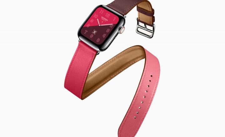 Четвертое поколение часов Apple Watch Hermès