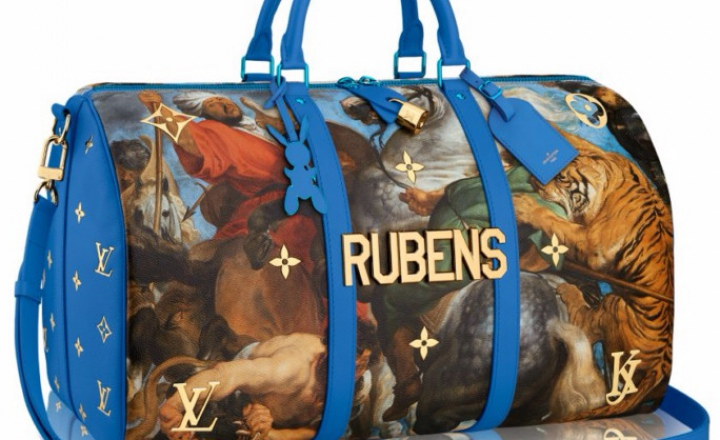 Louis Vuitton выпустил сумочки со именитыми картинами