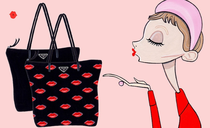 Коллекция Prada ко Дню святого Валентина