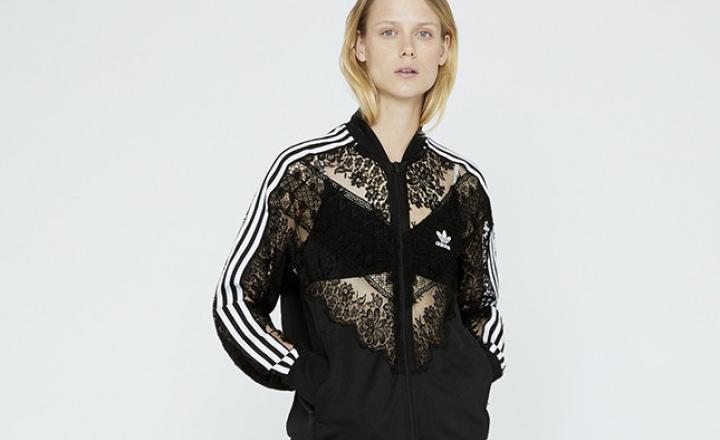 Стелла Маккартни + Adidas = спортивные вещи с кружевами