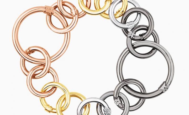 Цепи-кольца: новые украшения-трансформеры Tous