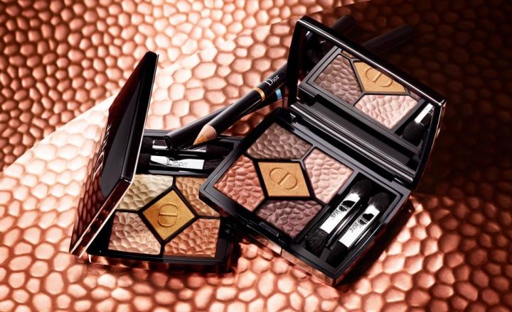 Ода золоту и бронзе в летней коллекции макияжа Dior