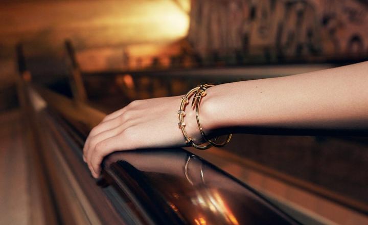 Бриллиантовые воплощения шнуров с гайками Écrou de Cartier
